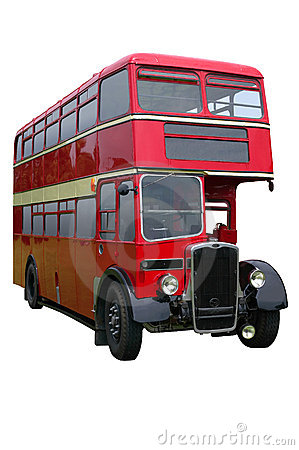 Red Vintage Double decker
