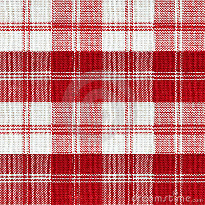 Red vintage picnic pattern