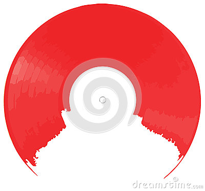 Red Vinyl background