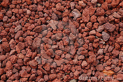 Red Volcanic Rock Texture Stock Photography Image 10630762