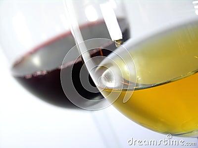 Red vs vit wine