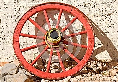 Red Wagon Wheel
