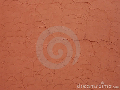 Red wall texture with scales