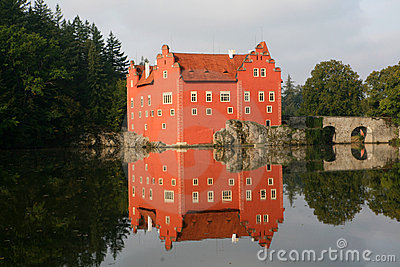 The red water chateau  Cervena Lhota