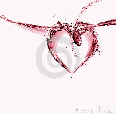 Red Water Heart