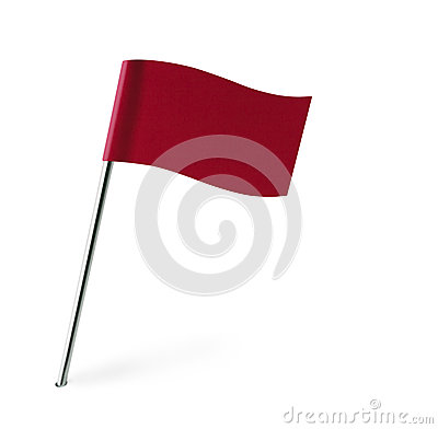 Free Red Wave Flag Stock Photos - 34638213