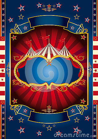 Red wheel circus