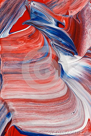 Free Red, White And Blue Abstract Background Stock Photography - 116123912