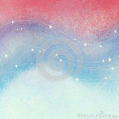 Free Red White And Blue Background With Stars And Stripes In Flowing Waves; Textured Patriotic Fourth Of July, Veterans Day, Or Memoria Stock Photography - 112519582