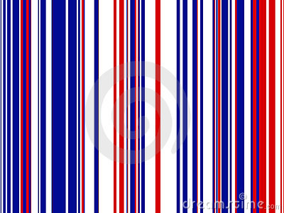 Red White Blue Striped Background