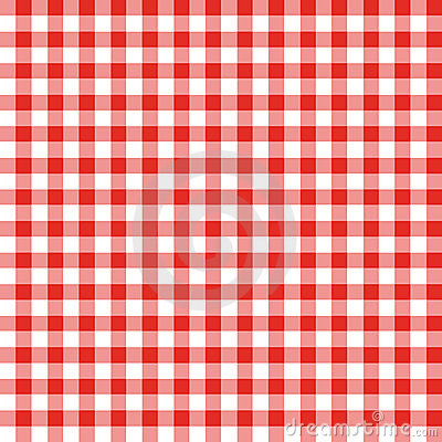 Red And White Checkered Fabric Stock Images Image 14072144