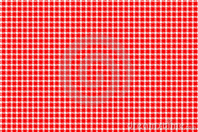 Red And White Gingham Stock Image Image 15078341