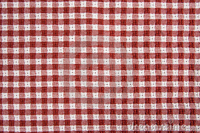 Red And White Picnic Blanket Stock Photography - Image: 6182892