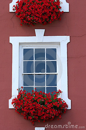 Free Red Window Beauty Stock Photo - 459670