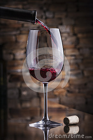 Free Red Wine Stock Image - 58391281