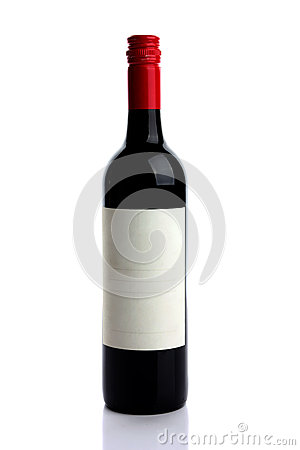 Free Red Wine Bottle Stock Photos - 24940103