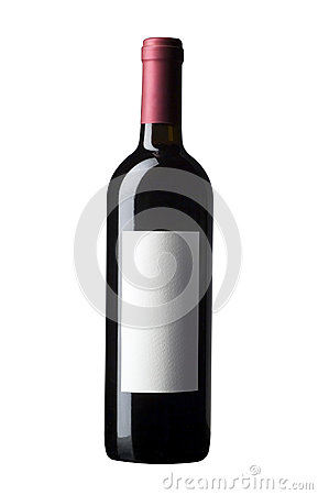 Free Red Wine Bottle Royalty Free Stock Photography - 33363377