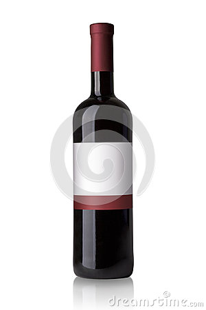Free Red Wine Bottle Stock Photos - 34857153