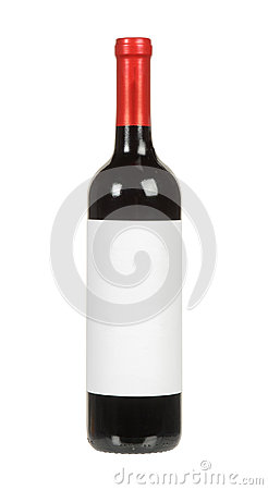 Free Red Wine Bottle Royalty Free Stock Photography - 37998387