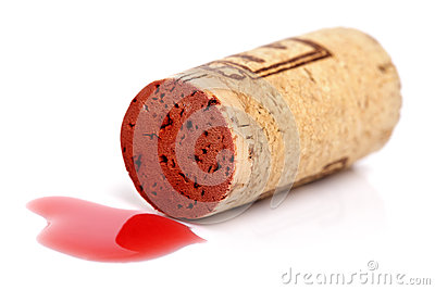 Red wine cork