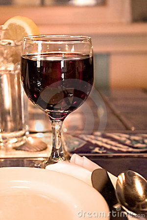 Free Red Wine Glass Stock Images - 80044