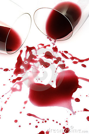 Red wine heart