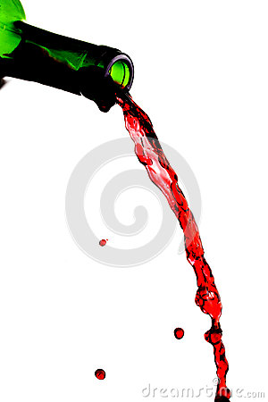 Free Red Wine Pouring Royalty Free Stock Photography - 52164787