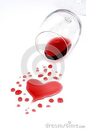 Red wine romance
