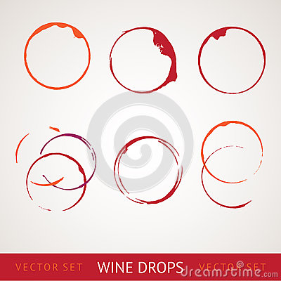 Free Red Wine Stain Royalty Free Stock Photos - 28636448