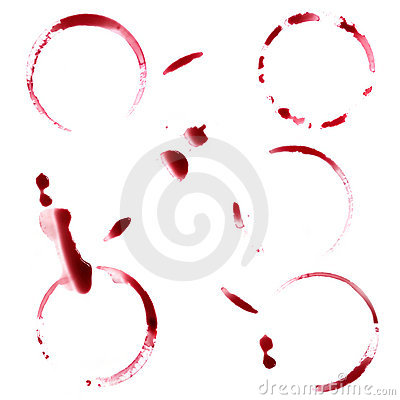 Free Red Wine Stains Stock Photo - 11099410