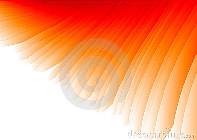 Red Wing Abstract Vector