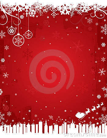 Free Red Winter Background Royalty Free Stock Photography - 16153927