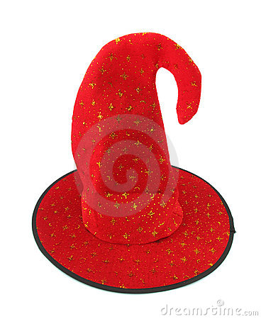 Red wizard s hat