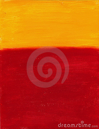 Red and Yellow Canvas