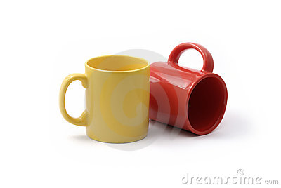 Red and yellow cups