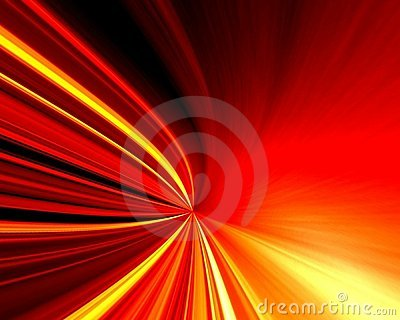 Red and yellow light