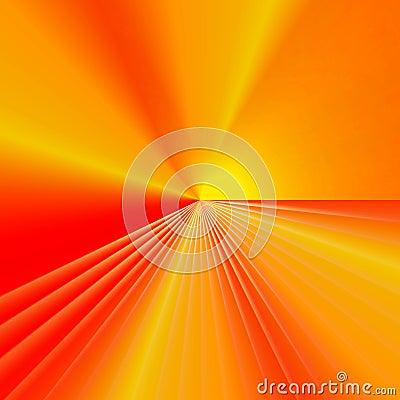 Red, yellow, orange background