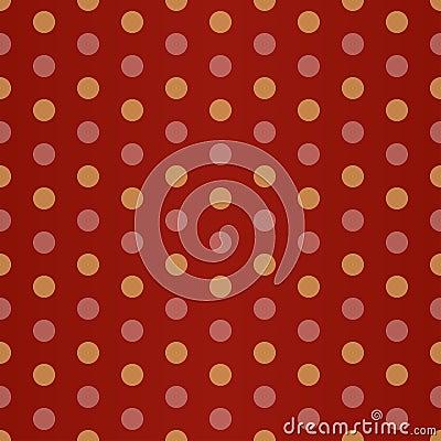 Red Yellow Polka Dot