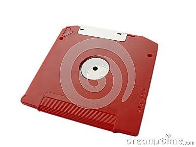 Red Zip Disk