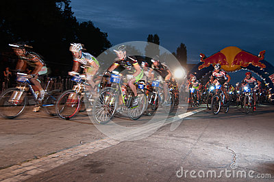 Redbull Moontimebike 2012 Editorial Photo