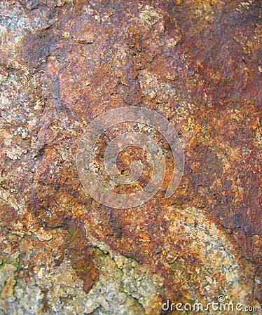 Reddish rock texture