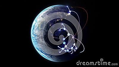 Rede crescente através do mundo