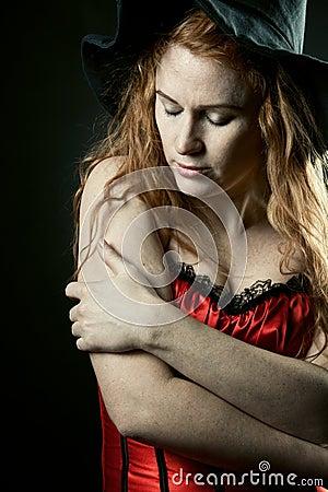 Redhead witch