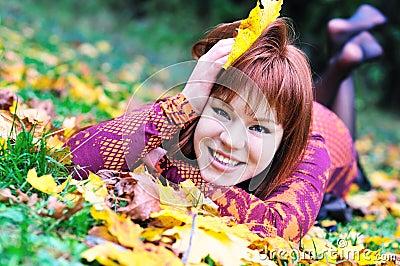 Redheaded autumn