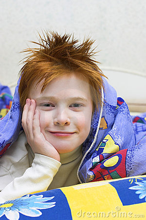 Redheaded Happy Boy Royalty Free Stock Photo - Image: 1685795