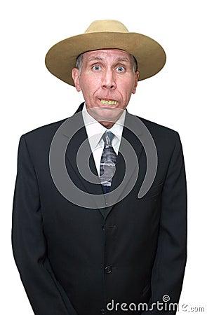 Redneck Businessman - Humorous