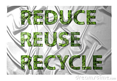 Reduce, reuce, recycle
