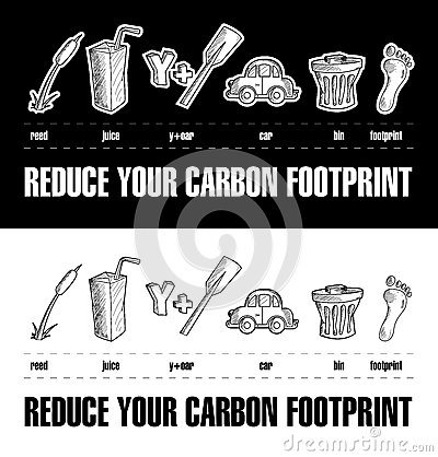 Reduce Your Carbon Footprint Rebus 2
