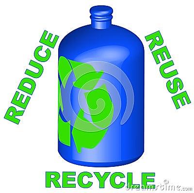 Reduzca la reutilización reciclan