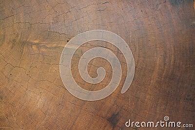 Redwood sawn end